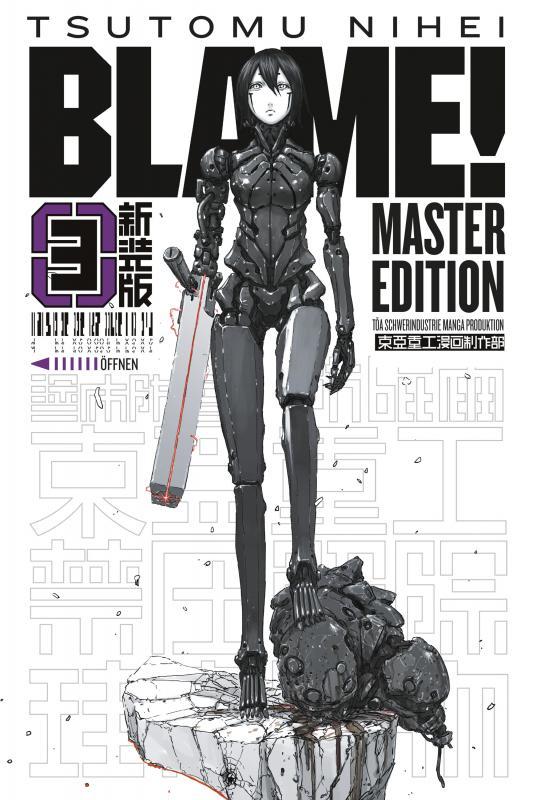 Cover-Bild BLAME! Master Edition 3