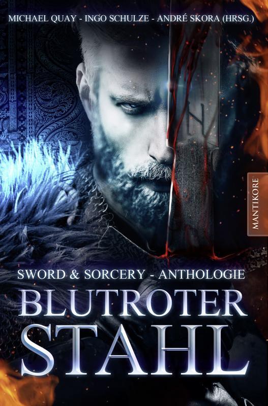 Cover-Bild Blutroter Stahl (Sword & Sorcery Anthologie)