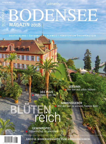 Cover-Bild Bodensee Magazin 2018