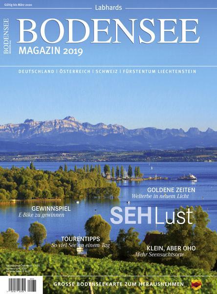 Cover-Bild Bodensee Magazin 2019