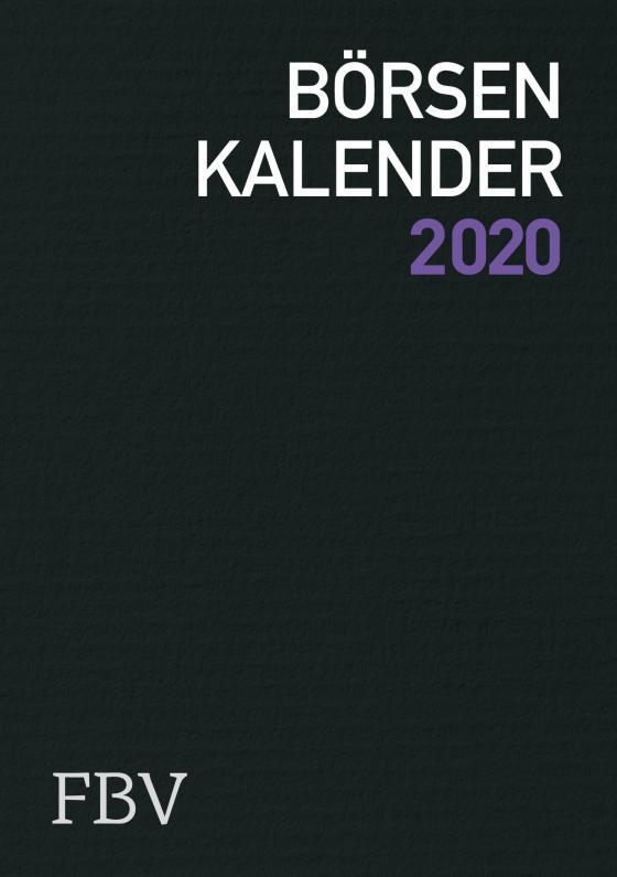 Cover-Bild Börsenkalender 2020