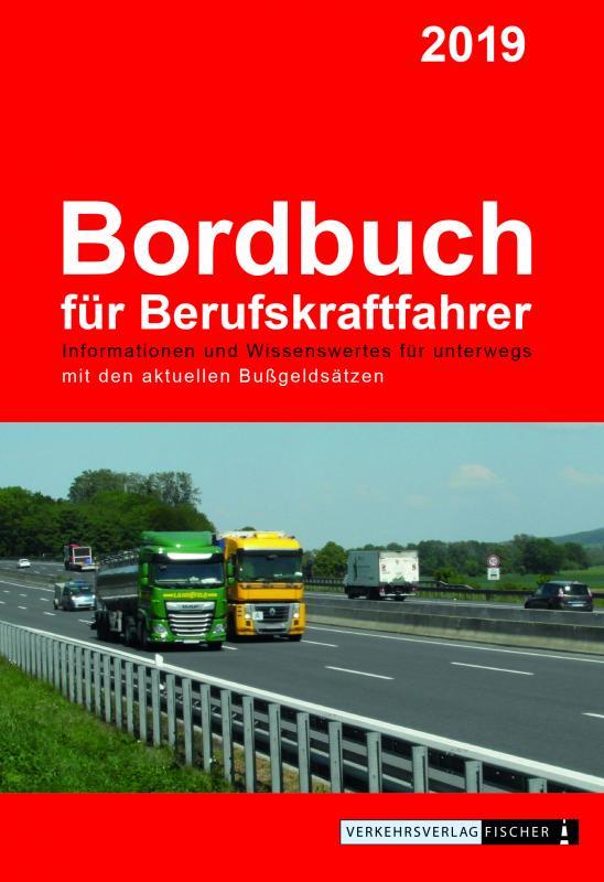 Cover-Bild Bordbuch für Berufskraftfahrer 2019