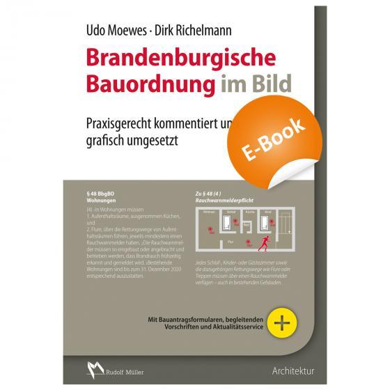 Cover-Bild Brandenburgische Bauordnung im Bild - E-Book (PDF)
