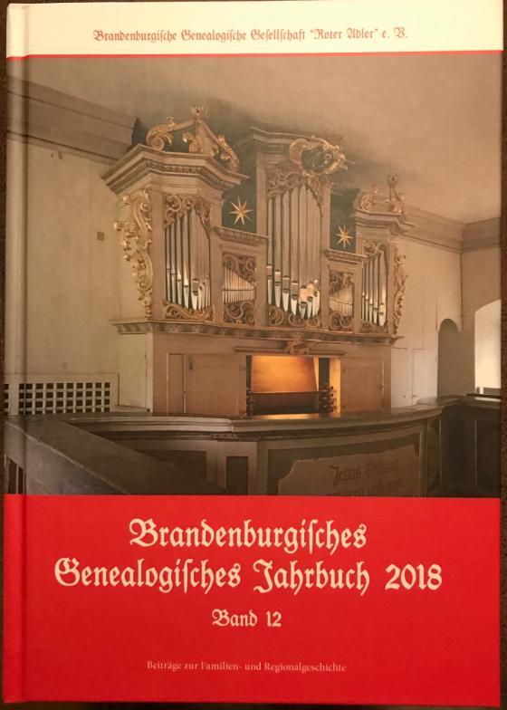 Cover-Bild Brandenburgisches Genealogisches Jahrbuch 2018