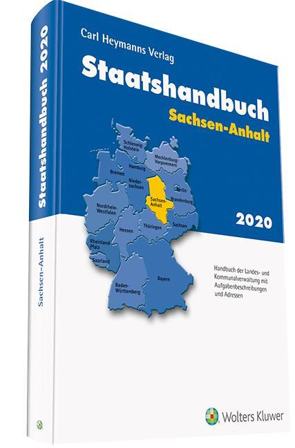 Cover-Bild BRD Staatshandbuch Sachsen-Anhalt 2020