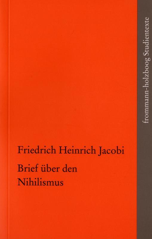 Cover-Bild Brief über den Nihilismus
