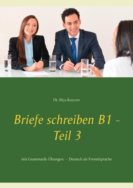 Cover-Bild Briefe schreiben B1 - Teil 3