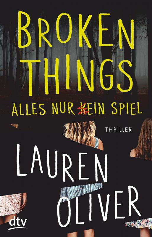 Cover-Bild Broken Things – Alles nur (k)ein Spiel