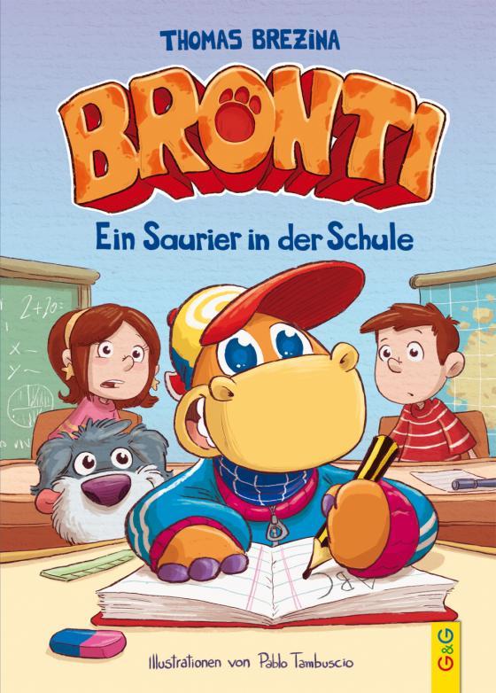 Cover-Bild Bronti - Ein Saurier in der Schule