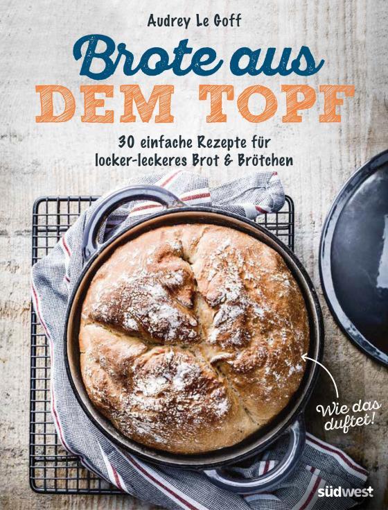 Cover-Bild Brote aus dem Topf