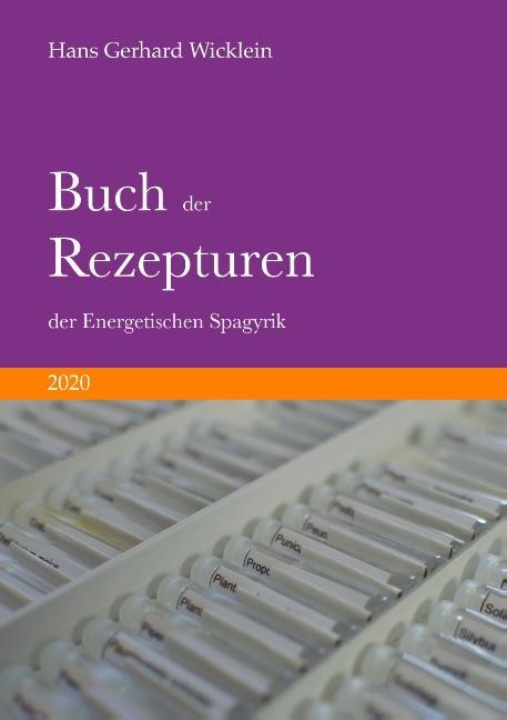 Cover-Bild Buch der Rezepturen der Energetischen Spagyrik