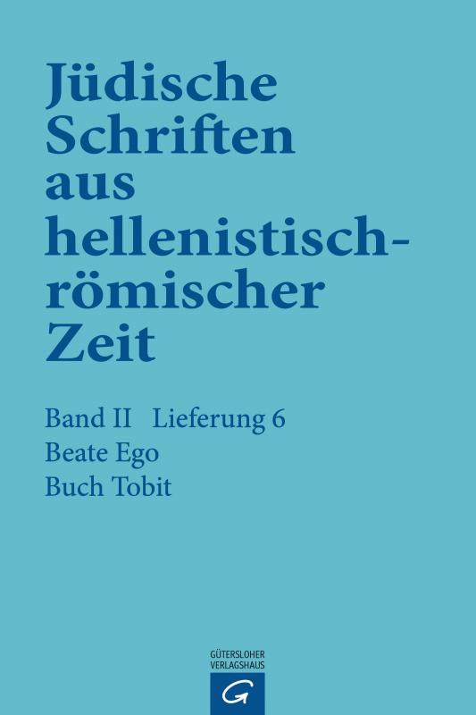 Cover-Bild Buch Tobit