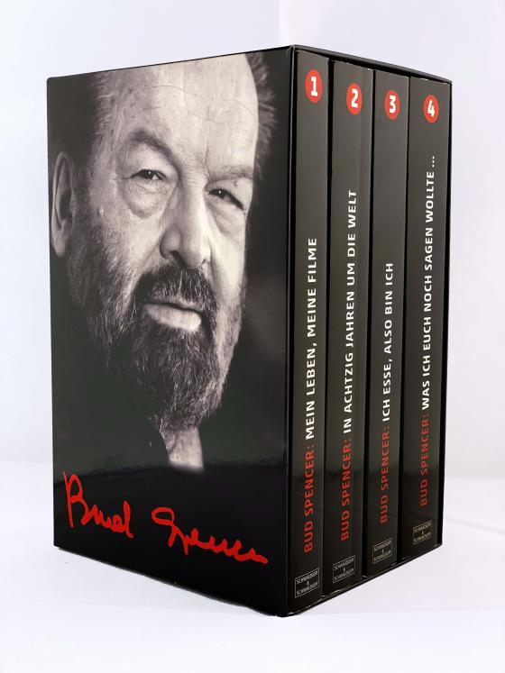 Cover-Bild BUD SPENCER: Alle vier Bud-Spencer-Paperbacks im Schuber