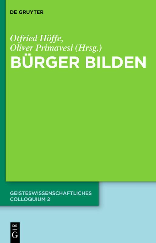 Cover-Bild Bürger bilden