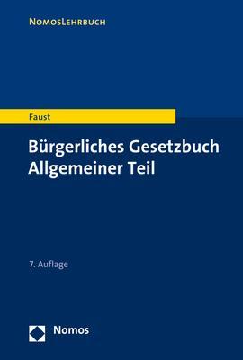 Cover-Bild Bürgerliches Gesetzbuch Allgemeiner Teil