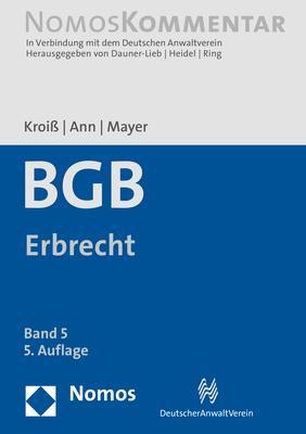 Cover-Bild Bürgerliches Gesetzbuch: Erbrecht