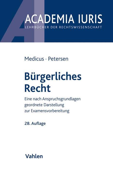 Cover-Bild Bürgerliches Recht