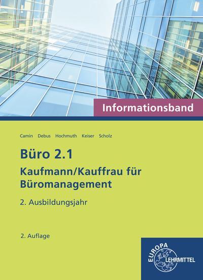 Cover-Bild Büro 2.1 Kaufmann/Kauffrau für Büromanagement