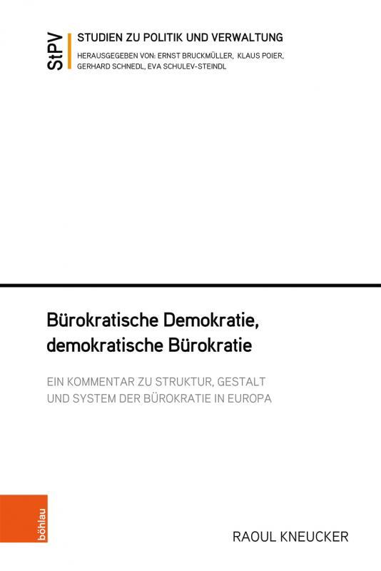 Cover-Bild Bürokratische Demokratie, demokratische Bürokratie