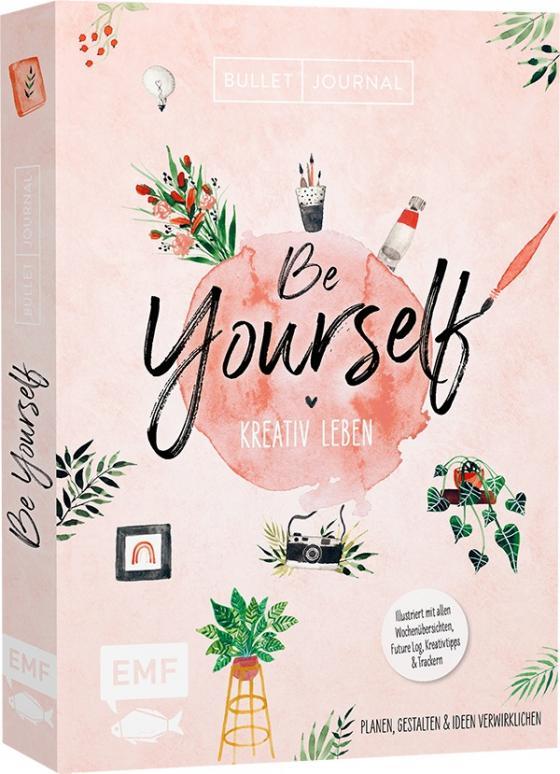 Cover-Bild Bullet Journal – Be Yourself – kreativ leben