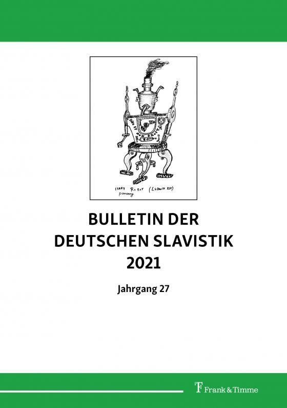 Cover-Bild Bulletin der Deutschen Slavistik 2021