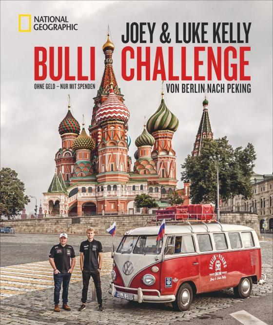 Cover-Bild Bulli Challenge – Von Berlin nach Peking