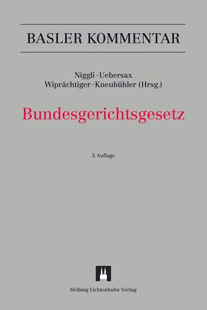 Cover-Bild Bundesgerichtsgesetz