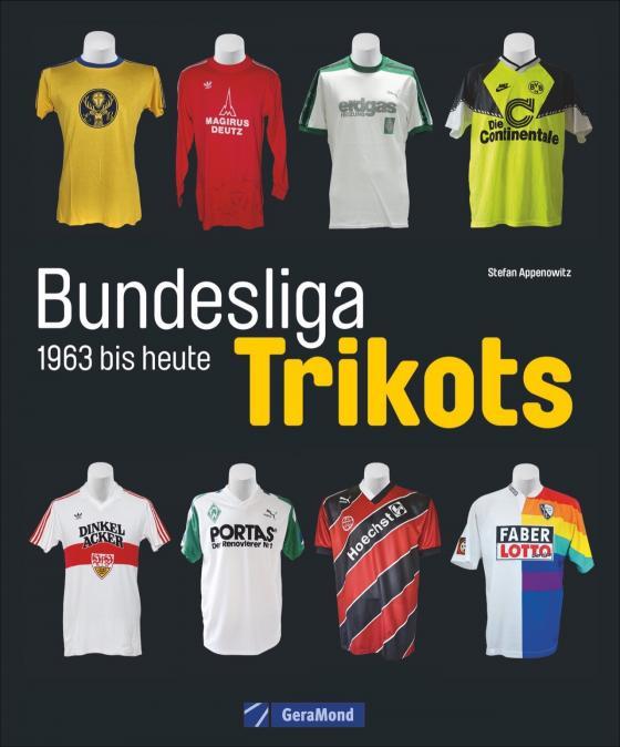Cover-Bild Bundesliga-Trikots