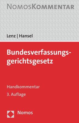 Cover-Bild Bundesverfassungsgerichtsgesetz