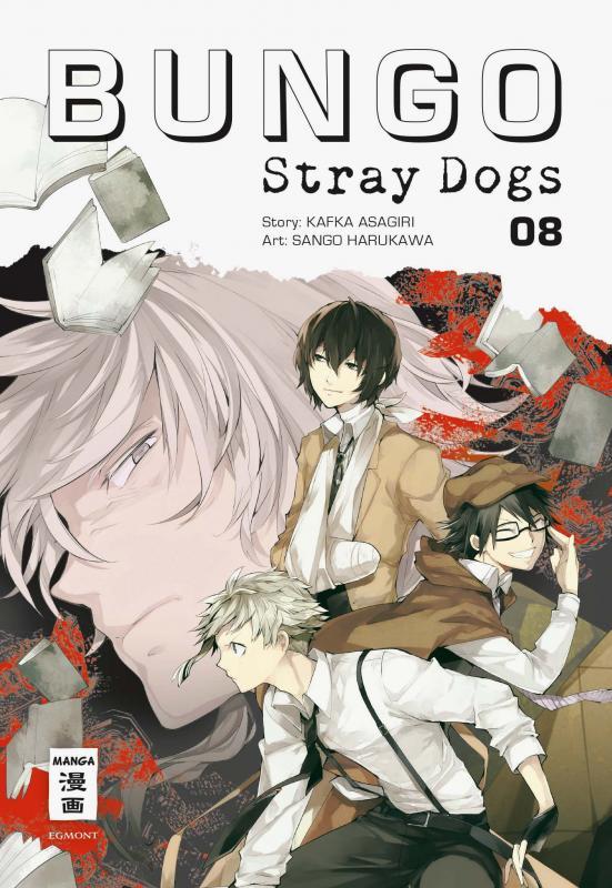 Cover-Bild Bungo Stray Dogs 08