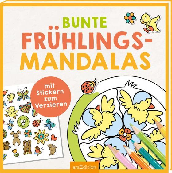 Cover-Bild Bunte Frühlings-Mandalas