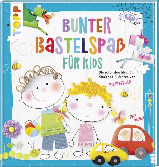 Cover-Bild Bunter Bastelspaß für Kids