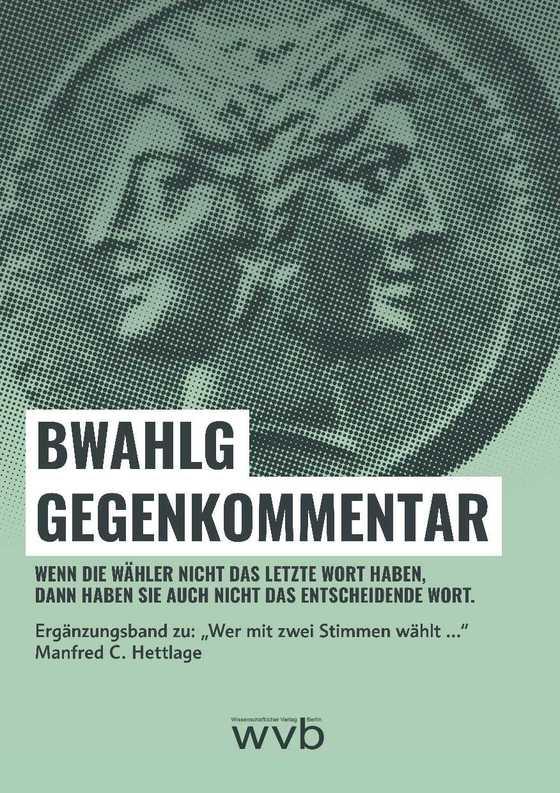 Cover-Bild BWahlG Gegenkommentar