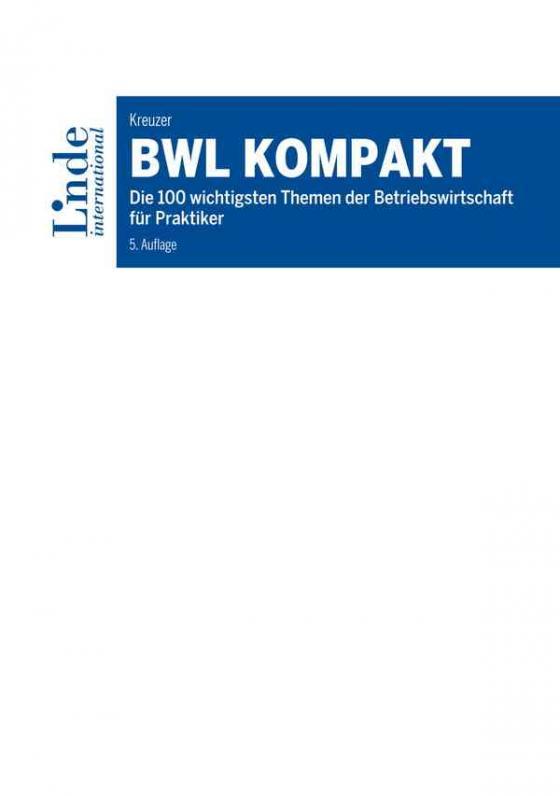 Cover-Bild BWL kompakt