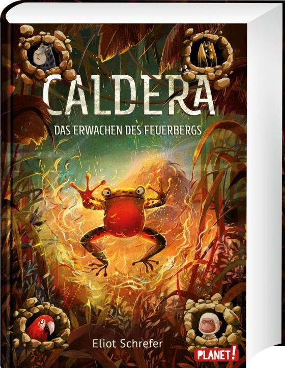 Cover-Bild Caldera 3: Das Erwachen des Feuerbergs