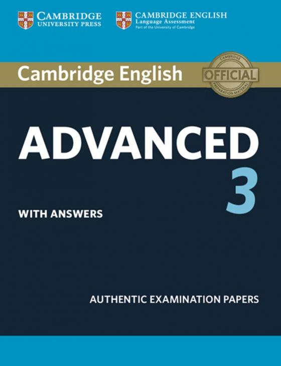 Cover-Bild Cambridge English Advanced 3