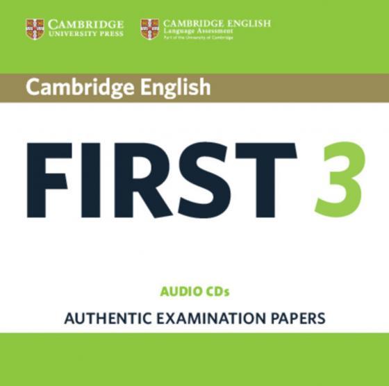 Cover-Bild Cambridge English First 3