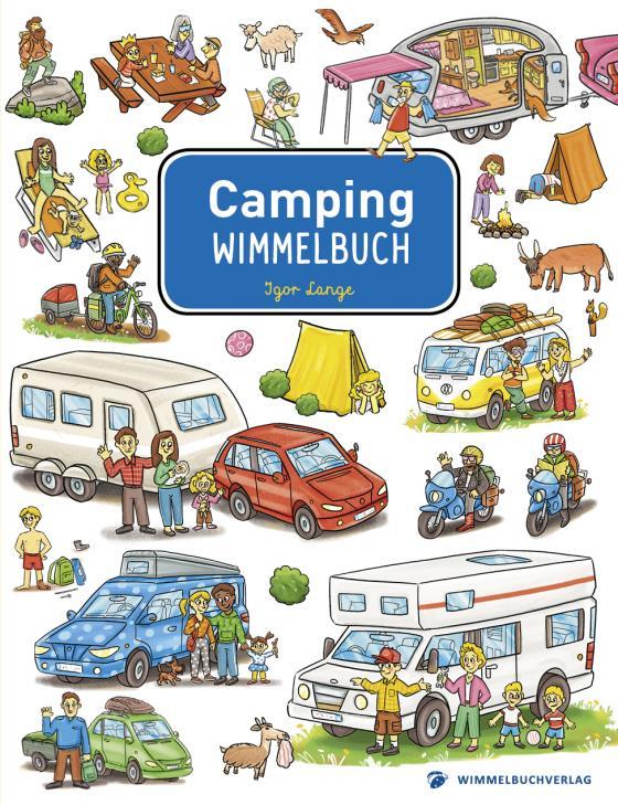 Cover-Bild Camping Wimmelbuch