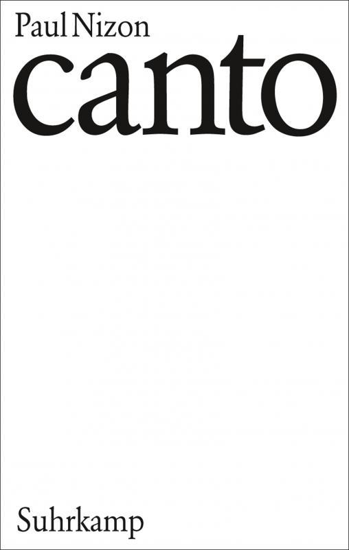 Cover-Bild Canto