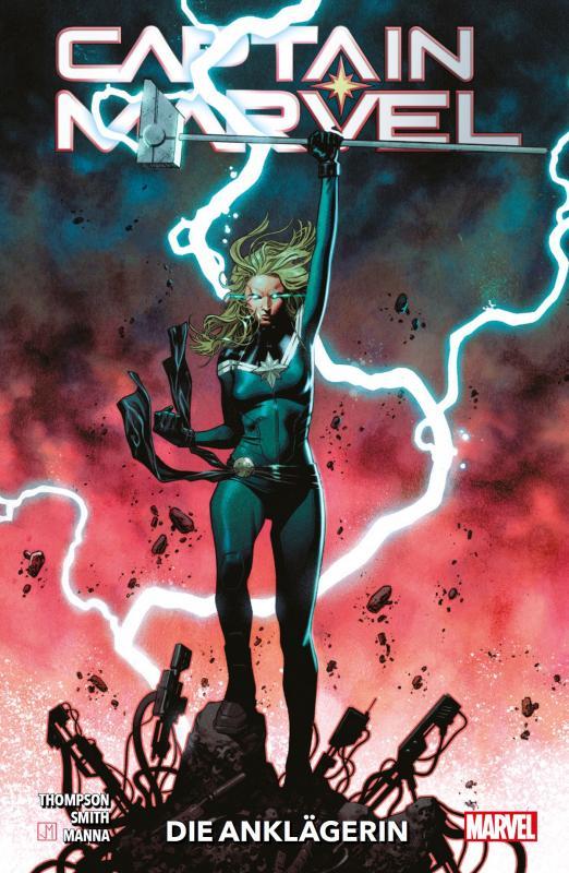 Cover-Bild Captain Marvel - Neustart