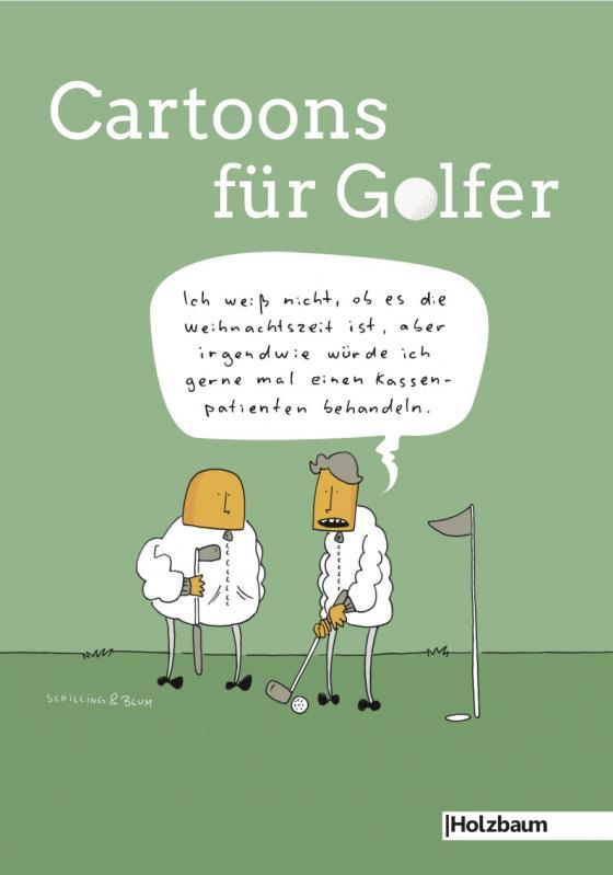 Cover-Bild Cartoons für Golfer