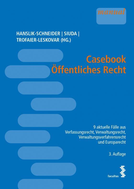 Cover-Bild Casebook Öffentliches Recht