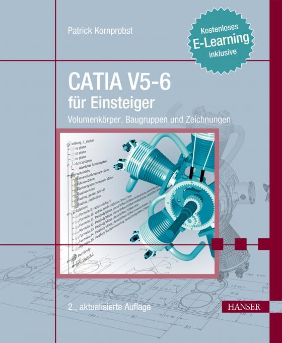 Cover-Bild CATIA V5-6 für Einsteiger