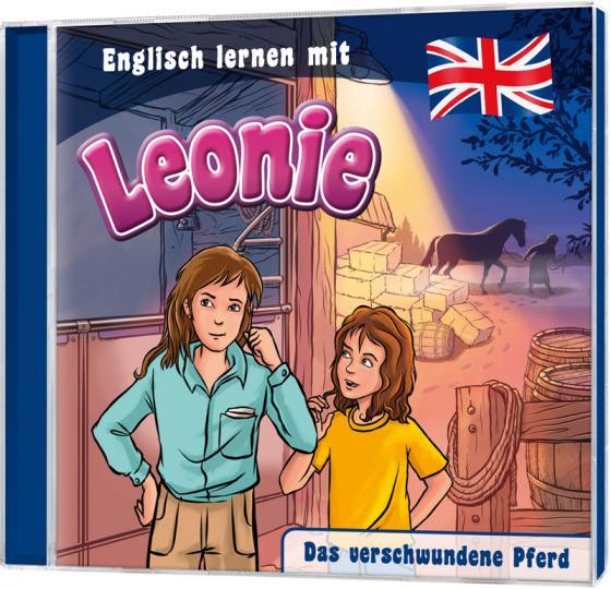 Cover-Bild CD Das verschwundene Pferd - Englisch lernen mit Leonie