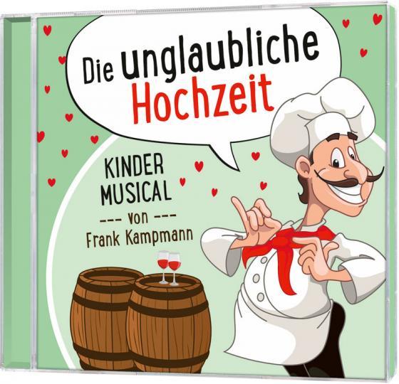 Cover-Bild CD Die unglaubliche Hochzeit