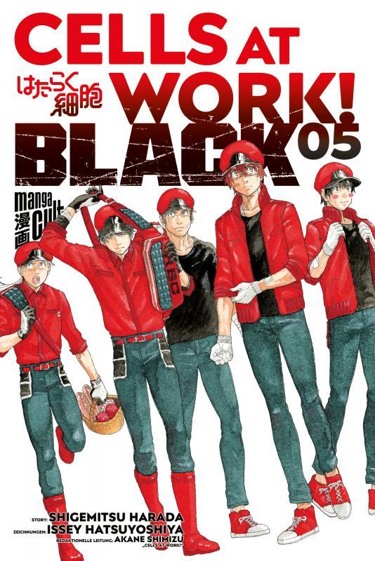 Cover-Bild Cells at Work! BLACK 5