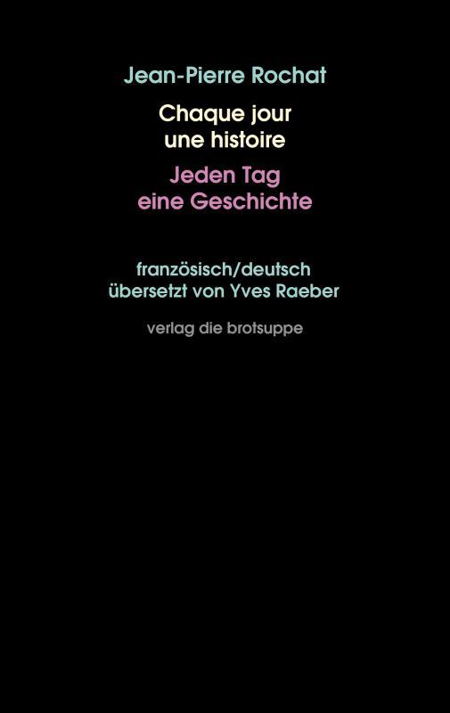 Cover-Bild Chaque jour une histoire – Jeden Tag eine Geschichte