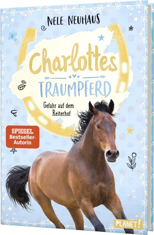 Cover-Bild Charlottes Traumpferd 2: Gefahr auf dem Reiterhof