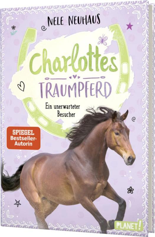 Cover-Bild Charlottes Traumpferd 3: Ein unerwarteter Besucher