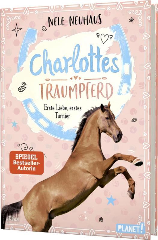 Cover-Bild Charlottes Traumpferd 4: Erste Liebe, erstes Turnier